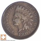 1901 Indian Head Cent Off Center *XB52