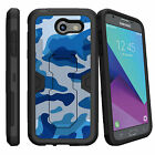For Samsung Galaxy J3 Prime | Express Prime 2 2017 Case Holster Clip Stand Camo