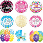 Spanish Language Latex-Foil Qualatex Balloons -Feliz Cumpleanos,Vivan Los Novios