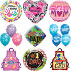 Adult Birthday - Mum & Dad Qualatex Birthday Party Latex, Bubble & Foil Balloons