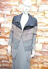 NEXT GREY SPARKLE OMBRE CHUNKY KNIT COATIGAN / CARDIGAN Sizes XS,S,M,L,XL