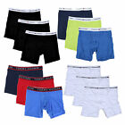 Tommy Hilfiger Underwear Mens Boxer Briefs 3 Pack Elastic Waistband Classic New
