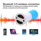 Portable Waterproof Bluetooth Speaker  + 4000mAh Battery Charger For Travel