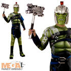 World War Hulk Boys Fancy Dress Kids Marvel Superhero Childrens Childs Costume