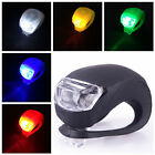 Cycling Bike Bicycle Silicone Front/Rear Light LED Warning Lamp Hello