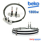 for BEKO Fan Oven Cooker Heater Heating Element Ring 1800W 262900074 2 Turn