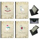 Christmas & New Year Wishes Universal Folio Leather Case For Samsung Tablets