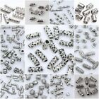 Wholesale 31 Style Tibetan Silver Tube Loose Spacer Beads DIY Jewelry Making