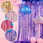 Curtain Door Rain Color Bar Home Foil Tinsel Fringe Curtain Wedding Party Decor