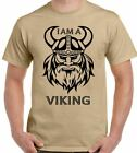 I Am A VIKING - Mens Funny T-Shirt Warrior Norse Nord Norway Thor Odin Biker