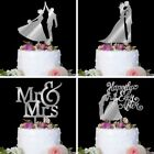 Wedding Cake Topper Mr Mrs Bride Groom Love Anniversary Party Favors Decoration