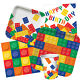 BLOCK PARTY Birthday Range - Kids Lego Fun Tableware Balloons & Decorations