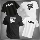 Basketball Mom, Dad or (U-Decide) & Personalize T-Shirt All Adult Sizes XS - 6XL