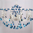 Creative Zinc Alloy Candle Light Led Crystal Chandelier Decoration Lamps New