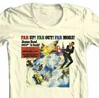 James Bond T-shirt 007 Her Majesty's Secret Service retro cotton graphic tee $24.99 USD