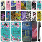 For Motorola Moto Z2 Play 2nd Gen 2017 HARD Back Case Phone Cover + PEN