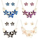 2pcs/set Cheap Women Mixed Style Fashion Design Chain Necklace Earrings Jewelry
