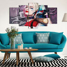Sizes Print Death Squads Harley Quinn Oil Painting Wall Art Home Decor Unframed