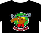 Christmas T Shirt - up to 5XL Wreath Cris-moose tree star lights gift