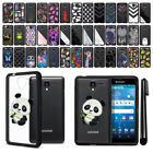 For Kyocera Hydro View C6742 Reach Shore Hard Clear Case TPU Bumper Cover + Pen