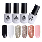 BORN PRETTY Soak Off UV Gel Polish Glitter Platinum Rose Gold Silver Gel 5ml