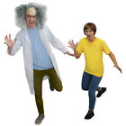 COSPLAY CRAZY SCIENTIST OR COMPANION TV CHARACTER FANCY DRESS COSTUME OUTFIT