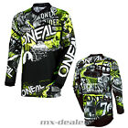O'Neal Element Kinder Jersey ATTACK schwarz Kids Trikot MX DH MTB BMX Motocross