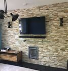 OYSTER SLATE MULTI COLOUR Split Face Stone Wall Cladding Mosaic Tile Tiles