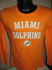 NFL Miami Dolphins Football Long Sleeve Team  T Shirt Womens Sizes Majestic NWT on eBay