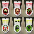 Halloween Toilet Seat Cover Stickers Fancy Horror Party Bathroom Decoration DIY