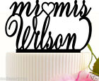 Wedding Cake Topper Party Event custom with your last name with Free Stand