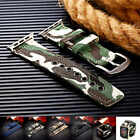 New Sport Canvas Military camouflage Watch Strap Band for 38 /42mm Wrist Watch