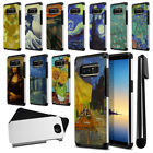 For Samsung Galaxy Note 8 Famous Painting Design Bumper Protective Cover + Pen