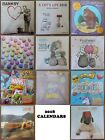 2018 WALL CALENDAR  Banksy Bake-Off Marvel Gruffalo Tatty Teddy Cars Cat Emoji