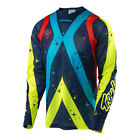 Troy Lee Designs SE Air Phantom Mens MX/Offroad Jersey Navy Blue/Yellow/Red
