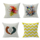 Cotton Polyamide Home Garden Pillow case Single-sided Printing Printed
