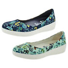 Fit Flop X Anna Sui Women's Printed Ballerina Flats Shoes Leather