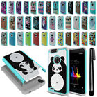 For ZTE Blade Z Max Z982 Sequoia Hybrid Bumper Shockproof Phone Case Cover + Pen