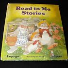 Read to Me Stories Hardcover Ages 3-5 Large Type Preschool Books Series