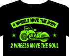 2 Wheels move the soul T Shirt S - 5XL guzzi victory classic
