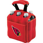 Picnic Time Arizona Cardinals Six Pack - Arizona Outdoor Accessorie NEW