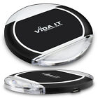 Slim Qi Wireless Charging Pad Mat Charger 1A with Blue LED light For Cell Phone