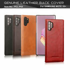 Pierre Cardin For Samsung Galaxy Note 8 10 Plus Genuine Leather Hard Case Cover