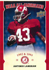 2012 Upper Deck Alabama Football Insert Singles (Pick Your Cards) $0.99 USD on eBay