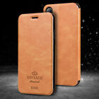 For iPhone X Mofi Vintage Classic Flip Leather Wallet Stand Card Full Cover Case