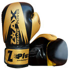 MAYA Leather Gel Boxing Gloves Training Sparring Grappling Gloves 4 OZ to 16 OZ