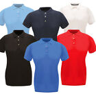 Polo Shirt Womens Regatta Shirts Classic Ladies Premium Polycotton 3 Button Neck