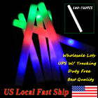 180 360 720 Multi-color Light-Up Flashing Foam Sticks LED Rally Rave Batons US