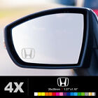 HONDA SYMBOL Wing Mirror Glass Silver Frosted Etched Car Vinyl Decal Stickers