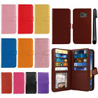 For Samsung Galaxy S7 Active Flip Holder Wallet Cover Case Wrist Strap + Pen